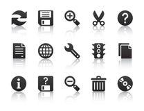 Ícones universais do software Imagens de Stock Royalty Free