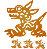 Ídolo asteca Imagens de Stock Royalty Free