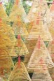 Ídolo chino chino del rezo Imagen de archivo libre de regalías