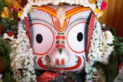 Ídolo de dios hindú, la India imagen de archivo