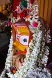 Ídolo de dios hindú, la India foto de archivo