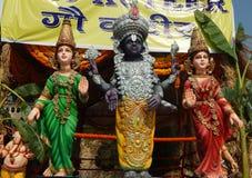 Ídolo de dios hindú Venkateswara Balaji Imágenes de archivo libres de regalías