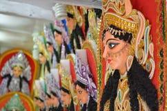 Ídolo de Durga da deusa Foto de Stock