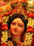 Ídolo de Durga de la diosa Imagen de archivo