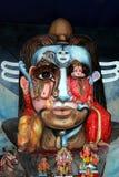 Ídolo de Ganesha com tema novo Fotografia de Stock