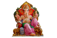 Ídolo de Ganesha, dios hindú Imagen de archivo