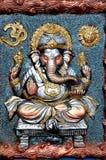Ídolo de la arcilla de señor Ganesha Imagen de archivo libre de regalías