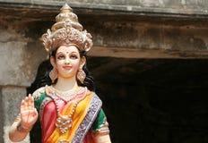 Ídolo de la diosa hindú Sita Imagen de archivo libre de regalías