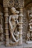 Ídolo de la señora en el vav del ki de Rani Foto de archivo libre de regalías