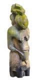 Ídolo de piedra antiguo Foto de archivo libre de regalías