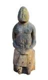 Ídolo de piedra antiguo Imágenes de archivo libres de regalías