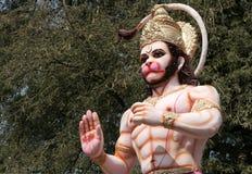 Ídolo do deus hindu Hanuman imagem de stock