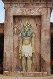 Ídolo egípcio da estátua de Anubis fotos de stock royalty free