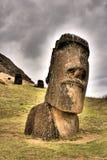 Ídolo gigante de pedra Fotografia de Stock Royalty Free