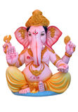 Ídolo hindú de Ganesha de dios Foto de archivo libre de regalías