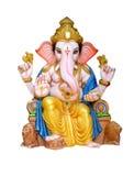 Ídolo hindú de Ganesha de dios Fotografía de archivo libre de regalías