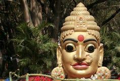 Ídolo hindú indio de la diosa Foto de archivo