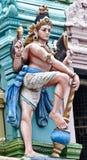 Ídolo no templo Hindu de Balaji Fotos de Stock Royalty Free