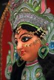 Ídolos de la diosa Durga. Imágenes de archivo libres de regalías