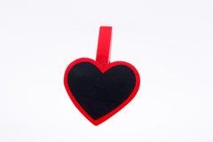 Ímã dado fôrma coração Fotografia de Stock Royalty Free