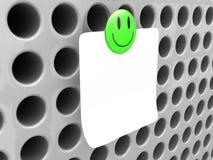 Ímã do smiley Fotografia de Stock