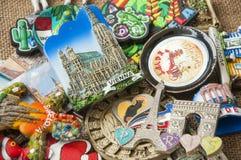 Ímãs coloridos do refrigerador Fotos de Stock Royalty Free