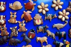 Ímãs coloridos do refrigerador Fotografia de Stock Royalty Free