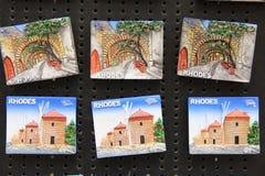 Ímãs da lembrança Foto de Stock Royalty Free