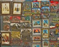 Ímãs da lembrança em St Petersburg Imagem de Stock