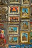 Ímãs da lembrança em St Petersburg Imagens de Stock Royalty Free