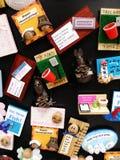 Ímãs do refrigerador da cozinha Fotografia de Stock Royalty Free