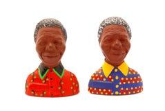 Ímãs do refrigerador de Nelson.Mandela Fotografia de Stock Royalty Free