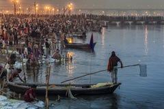 Índia - Allahabad fotografia de stock