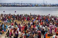 Índia - Allahabad fotos de stock