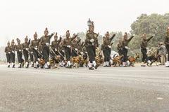 A Índia comemora o 67th dia da república o 26 de janeiro Fotografia de Stock