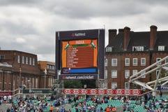 Índia contra Inglaterra em senhores Foto de Stock