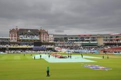 Índia contra Inglaterra em senhores Fotos de Stock
