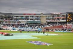 Índia contra Inglaterra em senhores Imagem de Stock Royalty Free