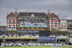 Índia contra Inglaterra em senhores Imagem de Stock