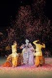 Índia da dança de Holi Imagem de Stock Royalty Free