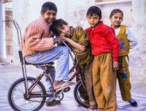 Índia de Deli das crianças Foto de Stock Royalty Free