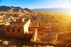 Índia de Ladakh da cidade de Leh Fotos de Stock Royalty Free