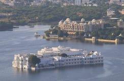Índia de Udaipur da arquitetura da cidade Imagem de Stock
