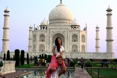 Índia do curso Imagens de Stock Royalty Free