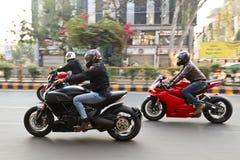 Índia do passeio do dia da república de Ducati Fotografia de Stock Royalty Free