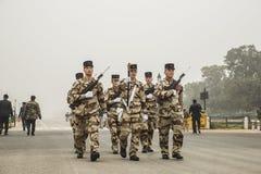 A Índia está pronta para comemorá-lo é 67th dia da república o 26 de janeiro Imagens de Stock