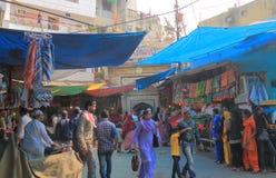 Índia islâmica complexa de Nova Deli da área de Hazrat Nizamuddin fotos de stock