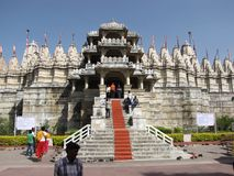 Índia Jain do templo Fotografia de Stock