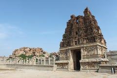 Índia, Karnataka, Hampi Foto de Stock Royalty Free
