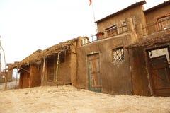 Índia pobre da casa da vila rural Fotos de Stock